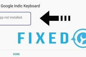 app not installed FIX