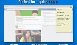 cool chrome extension note taking