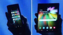infinity flex samsung foldable phone