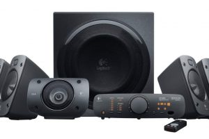 Logitech home theater system india